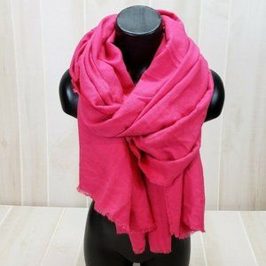 A New Day Pink Pashmina Oversized Scarf Wrap NWT